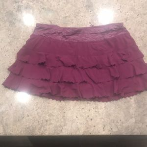 Lululemon layered eyelet skirt
